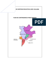 Plan de Contingencia Contra El Dengue