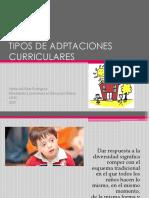 Adaptaciones Curri Culares Significativas