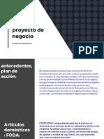 Mercado de Energía- Proyecto de Negocio