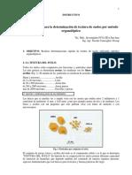 INSTRUCTIVO _R001_Guía Para La Determinación de Textura de Suelos Por Método Organoléptico