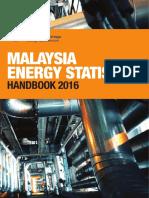 Malaysia Energy Statistics Handbook 2016