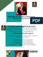 Representante Del Gobierno Regional de Junín