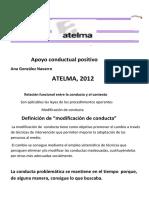 Conducta en Niños t.e.l. Atelma