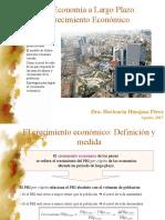 Economía de Largo Plazo y Crecimiento Económico
