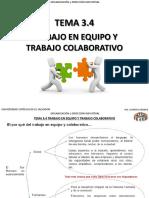 Tema 3.4 Trabajo en Equipo y Trabajo Colaborativo