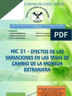Nic 21 Exposicion