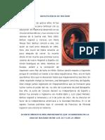 Adolescencia de Bolívar