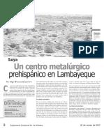 Luya Centro Metalúrgico Prehispánico