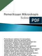 Pemeriksaan Mikroskopis-1