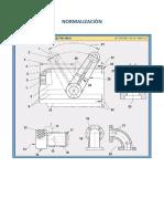 Trabajo de Normalizacion Tipos de Lineas - Dibujo Tecnico