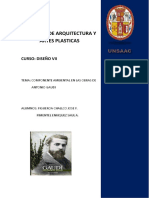 Componente Ambiental en Las Obras de Antonio Gaudi