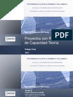 Trabajo Final-Grupo 8-proyectos con Restricciones de Capacidad-Taller de Proyectos Múltiples-Teoría.ppsx