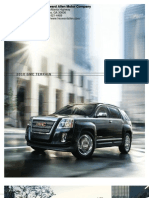 2010 Gmc Terrain  Brochure Heyward Allen Motor Company Atlanta, GA
