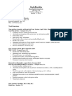 stacie baptista resume revised