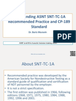 Muravin - Understanding Asnt Snt-tc-1a - Acoustic Emission Traning Series