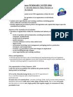Afi Dairy Farmers Summary Notes 2016