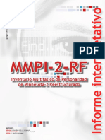 Informe MMPI-2-RF Caso Ilustrativo