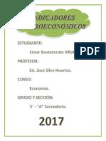 INDICADORES-MACROECONÓMICOS