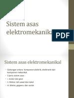 Sistem Asas Elektromekanikal