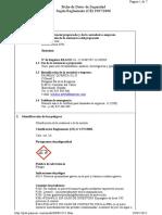 Ficha de Seguridad 8. Acido Nitrico