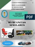 MERCANCÍAS-SIMILARES