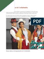 Danzas Típicas de Cochabamba