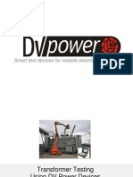 Transformer Testing - DV Power Products