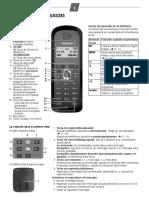 Manual de Telefono Simens Gigasetas