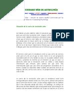 Diccionario Web de Astrología