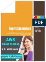 Amazon Web Services Training - SVR Technologies