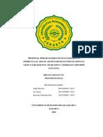 PKM PE Pembuatan Arang Aktif Dari Kulit Pisang Dengan Aktivator Koh Dan Aplikasinya Sebagai Adsorben Logam Fe