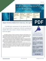 Rejuvenecimiento Facial No Quirurgico