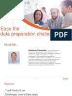 Data Prep Challenges