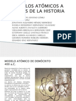 Modelos Atómicos a Través de La Historia