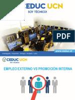 Empleo Externo vs Promocion Interna