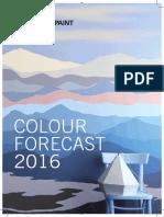 Kansai Paint Colour Forecast 2016