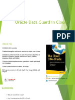 Oracle Data Guard in Cloud