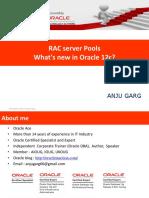 RAC Server Pools What's New in Oracle 12c
