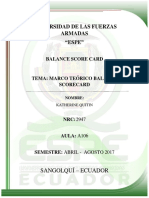 Ensayo Balance Scorecard