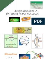 Antibacterianos Sobre La Síntesis de Ácidos Nucleicos