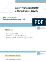 CCSP - Cloud-Security Premonitions and Importance