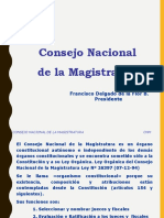 Consejo Nacional Magistratura