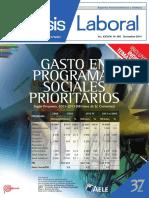Análisis Laboral AELE Diciembre 2014