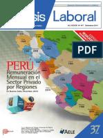 Análisis Laboral AELE Setiembre 2014
