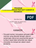 Presentasi Penanggulangan Kanker