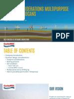 Design Considerations Multipurpose Jackup Spudcans - Gusto MSC