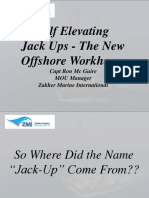 Self Elevating Jackups - Zakher Marine