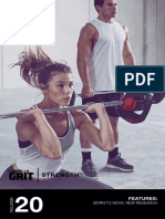 GRIT STRENGTH 20 Choreography Booklet