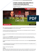 Football Manager 2017 Regen _ Newgen Youth Intake Dates _ FM Scout