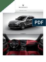 Maserati Brochure